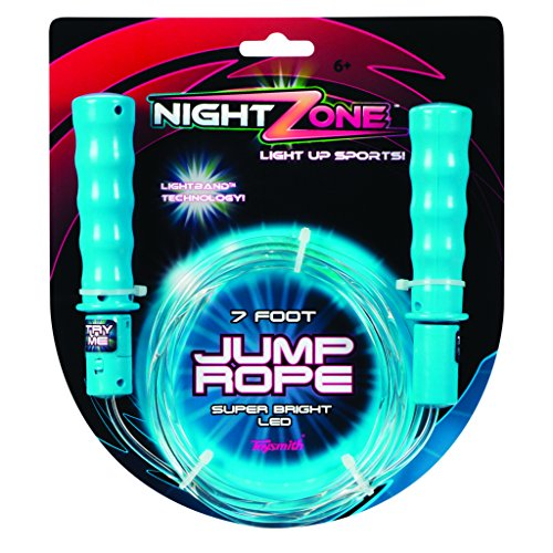 Toysmith Nightzone Jump Rope Colors