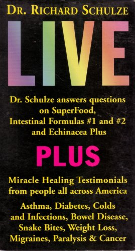 Foods Echinacea - Dr. Richard Schulze Live: Answers Questions on SuperFood, Intestinal Formulas #1 and #2, & Echinacea Plus