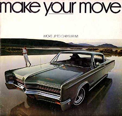 1968 Chrysler Sales Brochure Literature Book Piece Advertisement Options