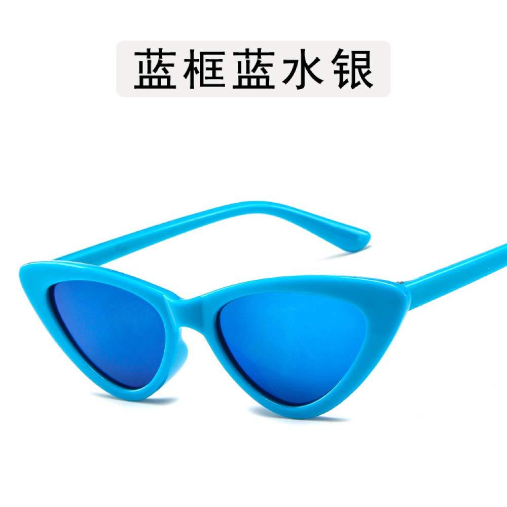 Yangjing-hl Gafas Planas Gafas luz Plana Ojos de Gato Gafas ...