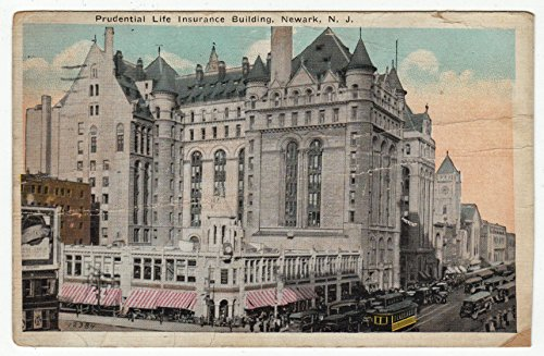 prudential-life-building-newark-new-jersey-vintage-original-postcard-0118-october-20-1924