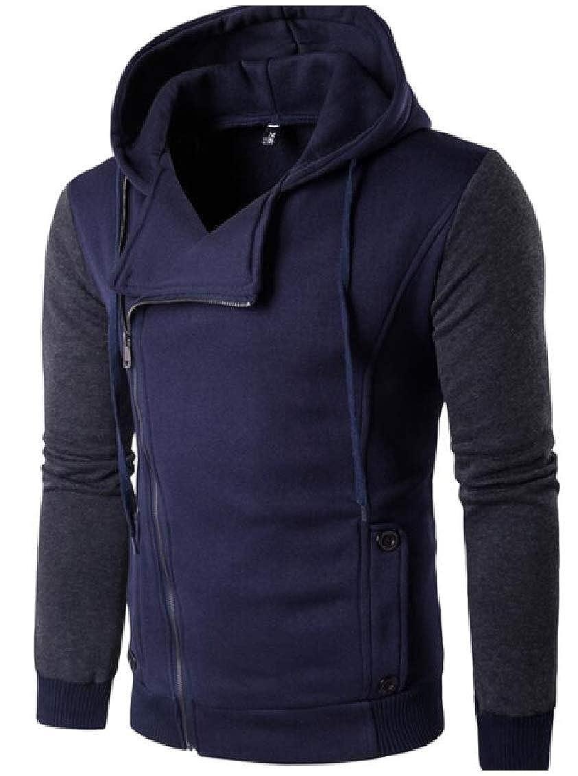 GodeyesMen Plus Size Leisure Outdoor Hooded Pullover Sweatshirt