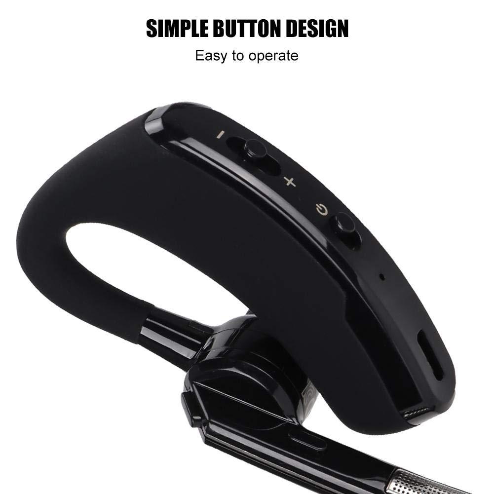 Ciglow Bluetooth Earpiece, Portable K-Head Wireless Bluetooth 4.0 Headset Earpiece with PTT Microphone Interphone Bluetooth Headset for All K-Plug Walkie Talkie by Ciglow (Image #6)