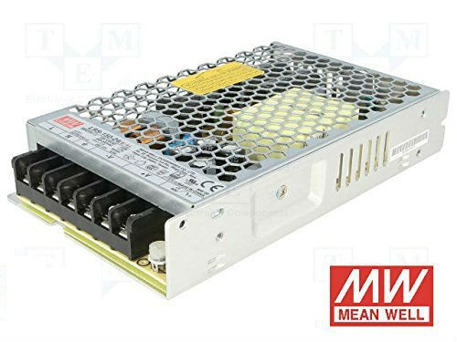 3 opinioni per KingLed- Alimentatore Mean Well 150W 24V 6.5 Amper, Corrente Costante, Modello