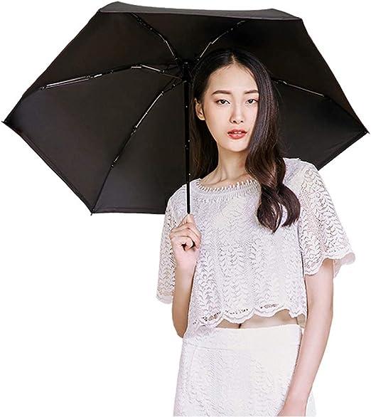 Fashion Anti UV Umbrella Compact Folding Travel Parasol Light Portable Small