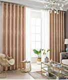 Simple thickened full diamond hemp shading new curtain fabric finished sunscreen living room bedroom shade (PINK LEAF, 150)