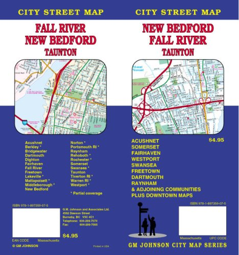 New Bedford / Fall River / Taunton MA Street Map