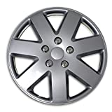07 chevy cobalt hubcaps - TuningPros WSC2-058S16 Hubcaps Wheel Skin Cover Type 2 16-Inches Silver Set of 4