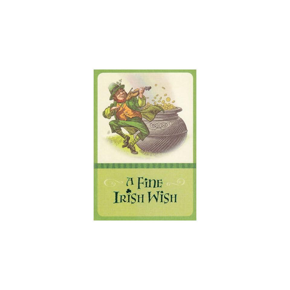 Greeting Card St Patricks Day A Fine Irish Wish