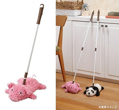 Comolife Cute Animal Floor Mop , Pig , Extendable hamdle / 23.62 - 35.43 Inch by Comolife (Image #1)