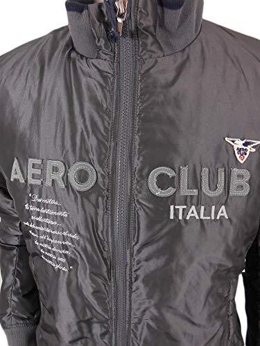 Giubbino Aeronautica Grigio Club Militare S Italia Tg 25 Aero Bomber C1 CZxZgqw5