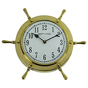 51wJiIbdZPL._SS300_ Best Ship Wheel Clocks