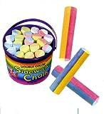 : Double Color Sidewalk Chalk Bucket
