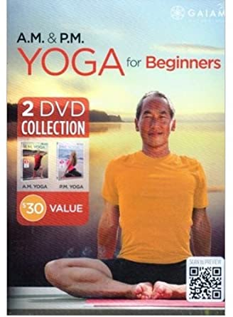 Amazon.com: AM PM Yoga for Beginners 2 DVD Set - Rodney Yee ...