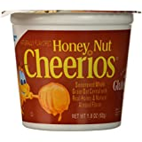 Honey Nut Cheerios Cereal Cup, 1.8 oz, 12 Pack