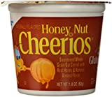 Honey Nut Cheerios Cereal Cup, Gluten Free Cereal