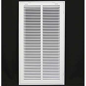 24 Quot X 12 Steel Return Air Filter Grille For 1 Quot Filter