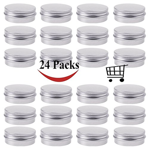 Small Lip Balm Tins - 4