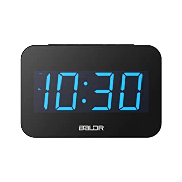 D DOLITY LED Reloj Digital de Alarma de Mesa Decoración Casera - 190x125x22mm: Amazon.es: Hogar