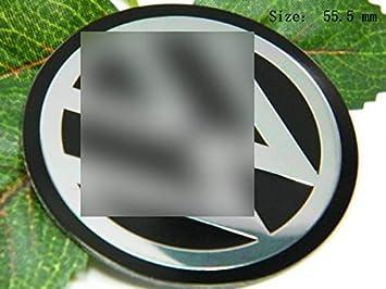 r154 V Tapacubos a 2 piezas 3d Emblema Adhesivo Coche Tapacubos Tapacubos tapacubos 55,5 mm: Amazon.es: Coche y moto