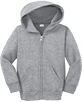 Joe's USA Toddler Full Zip Hoodies - Soft and Cozy Hooded Sweatshirts. 2T,3T,4T