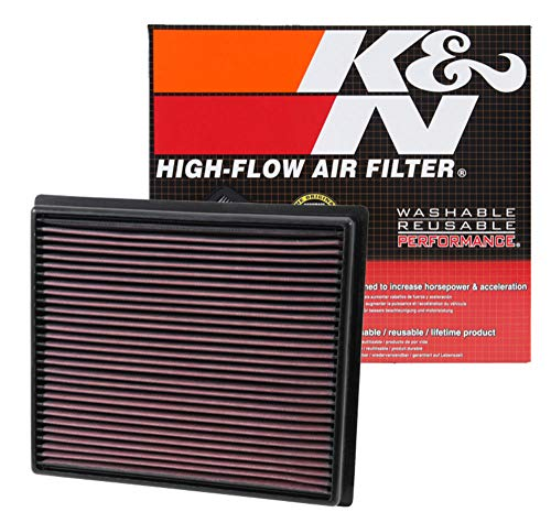 K&N engine air filter, washable and reusable:  2015-2019 Chevy/Cadillac/Holden/Opel/Vauxhall (Cruze, ATS-V, Astra BK, Astra MK7, AstraK) E-0650