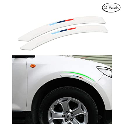 Car Wheel Wells Fender Eyebrow Edge Trim Protector Rubber Strips Side Bumper Protection Guard Anti-Scratch Sports