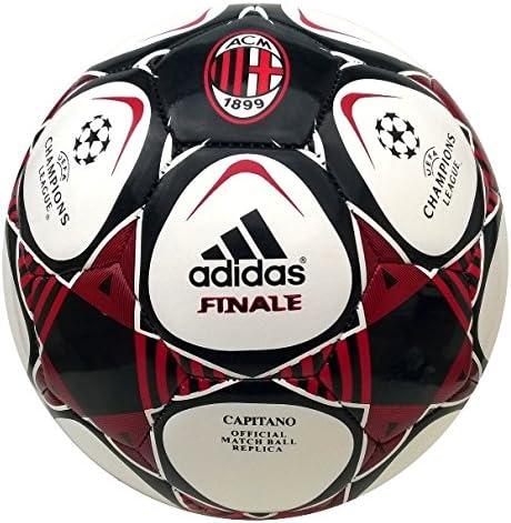 adidas Finale Capitano AC Mailand ACM - Balón de fútbol (talla 5 ...