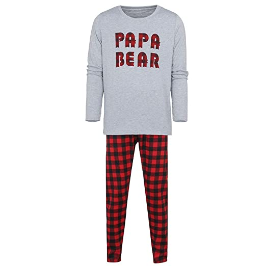 874b77c7d6 Image Unavailable. Image not available for. Color  Seaintheson Family  Matching Christmas Pajamas Set