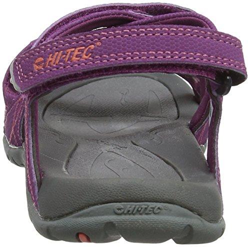 Hi-Tec Damen Waimea Falls Sandalen Trekking-& Wanderschuhe Violett (Amaranth/georgia Peach)