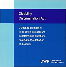 Amazon in: Buy Dwp Guidancedefinition of Disabili Book Online at Low