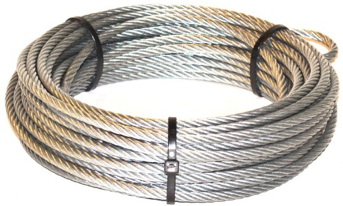 WARN 68851 Winch Rope - 7/32 in. x 55 - Winch Warn Cable Replacement