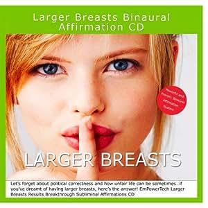 Davros - Larger Breasts Binaural Subliminal Affirmation CD