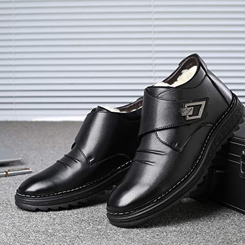 3962e7d28cb Invierno Casual Zapatos Botas Al Algodón Black Libre Antideslizante Hombre Para  De Nieve Aire 8wq6f