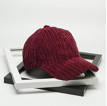 WCZ Sombrero de otoño invierno femenino Gorra de béisbol de ...