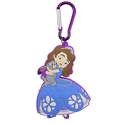 Chaveiro Emborrachado Princesinha Sofia - Disney