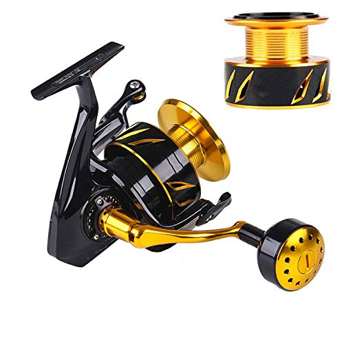 (SexyStore-fishing-reels Japan Made Lurekiller Saltist CW3000- CW10000 Spinning Jigging Reel Spinning Reel 10BB Alloy Reel 35kgs Drag Power,CW10000 with S Spool,10)