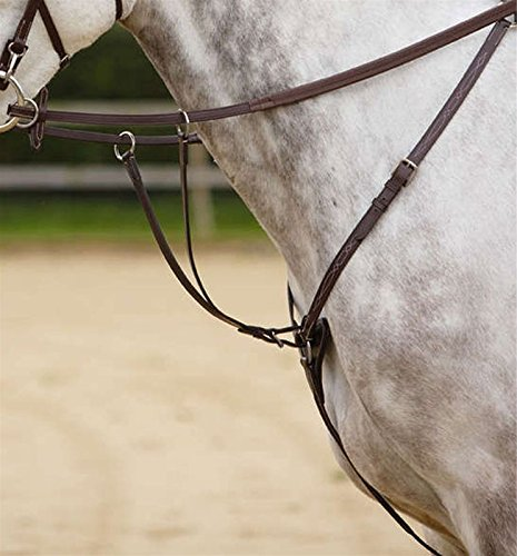 Standing Martingale Attachment (Shires Standing Martingale Attachment - Size:Oversize Color:Black)