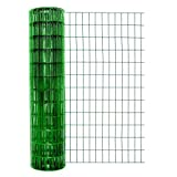 Cheap Garden Zone 48×50 Green Vinyl 2×4 14-Gauge Garden Fence