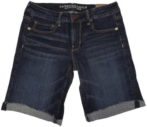 American Eagle Outfitters Womens Skinny Bermuda Shorts (8)