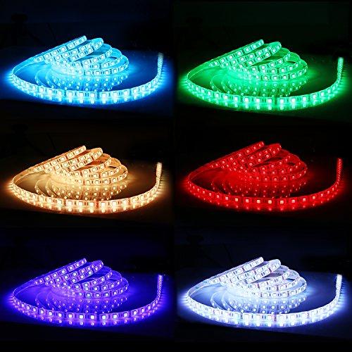AUKEY LED Light Strip, 16.4ft 300 LEDs RGB Wate...