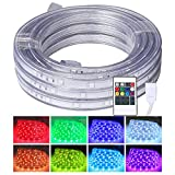 house plans with wrap around porch LED Rope Lights, 16.4ft Flat Flexible RGB Strip Light, Color Changing, Waterproof for Indoor Outdoor Use, Connectable Decorative Lighting, 8 Colors and Multiple Modes