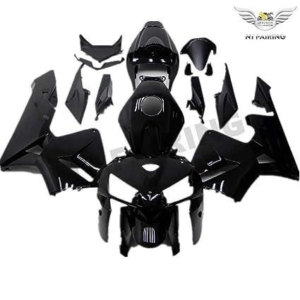 Nt Fairing Motorcycle Fairings Kit Fit For 2005 2006 Cbr600rr Injection Mold Gloss Black Plastic Bodywork Fairings 05 06 Cbr600rr