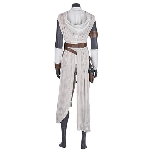 nihiug Star Wars 9: Skywalker Rise Cosplay de heroína Rey Rey ...
