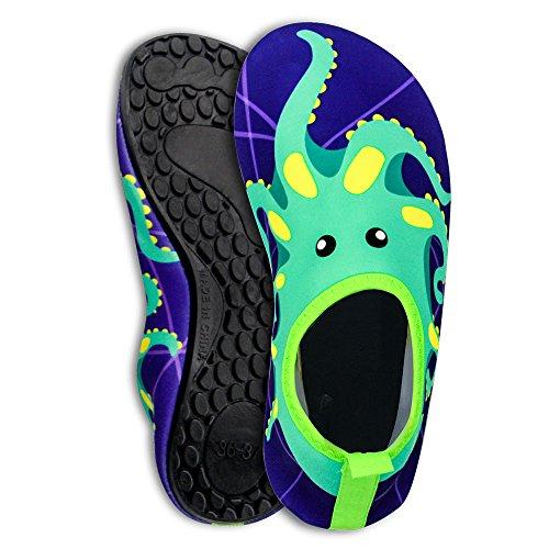 Mcgrath ragazzi esterno traspirante antiscivolo Aqua Water scarpe in pelle per esercizi yoga spiaggia piscina surf