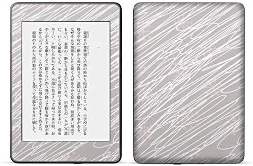 igsticker kindle paperwhite 第4世代 専用スキンシール キンドル ペーパーホワイト タブレット 電子書籍 裏表2枚セット カバー 保護 フィルム ステッカー 050083