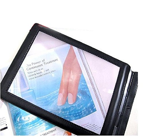 ixaer Full Page Magnifier-A4 Full Page Large Sheet Magnifier Magnifying Glass Reading Aid Lens Fresnel (Screen Magnifying)
