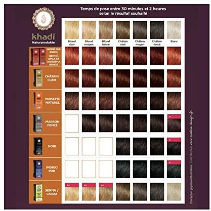 Khadi Henna - Tinte para plantas (100 g), color rojo
