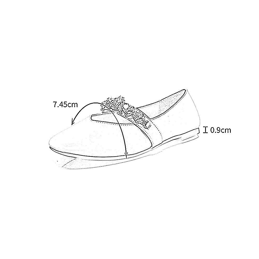 YQQ Zapatos Planos Zapatos De Verano Sandalias Salvajes Sandalias De Mujer Boca Poco Profunda Diamante De Imitación Moda Bonita Acogedor (Color : Blanco, ...