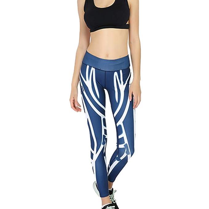 Mosstars Pantalones Pitillo Mujer Cintura Alta Leggings ...